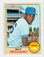 1968 Topps Baseball 37 Billy Williams Chicago Cubs Good to Very Good