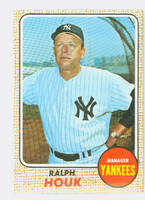 1968 Topps Baseball 47 Ralph Houk New York Yankees Near-Mint to Mint