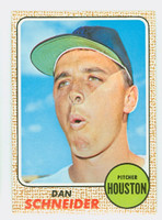 1968 Topps Baseball 57 Dan Schneider Houston Astros Near-Mint