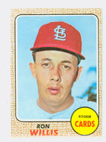 1968 Topps Baseball 68 Ron Willis St. Louis Cardinals Near-Mint