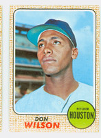 1968 Topps Baseball 77 Don Wilson Houston Astros Near-Mint