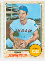 1968 Topps Baseball 83 Johnny Stephenson Chicago Cubs Near-Mint
