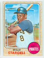 1968 Topps Baseball 86 Willie Stargell Pittsburgh Pirates Very Good