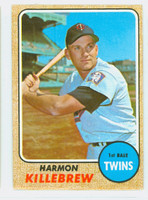 1968 Topps Baseball 220 Harmon Killebrew Minnesota Twins Fair to Poor