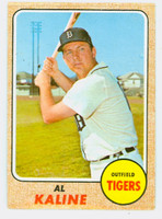 1968 Topps Baseball 240 Al Kaline Detroit Tigers Very Good to Excellent