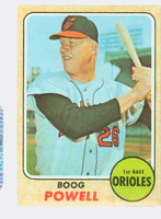 1968 Topps Baseball 381 Boog Powell Baltimore Orioles Excellent to Excellent Plus