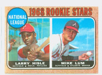 1968 Topps Baseball 579 NL Rookies High Number Excellent to Excellent Plus