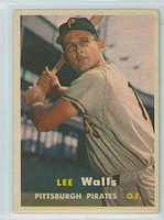 1957 Topps Baseball 52 Lee Walls Pittsburgh Pirates Very Good to Excellent