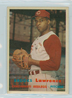1957 Topps Baseball 66 Brooks Lawrence Cincinnati Reds Excellent to Excellent Plus