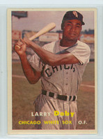 1957 Topps Baseball 85 Larry Doby Chicago White Sox Very Good
