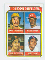 1974 Topps Baseball 598 Rookie Outfielders Excellent to Mint