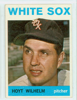 1964 Topps Baseball 13 Hoyt Wilhelm Chicago White Sox Excellent