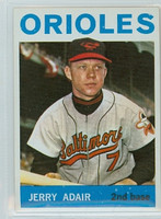 1964 Topps Baseball 22 Jerry Adair Baltimore Orioles Excellent to Mint