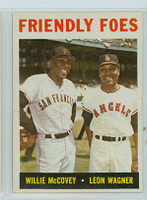1964 Topps Baseball 41 Friendly Foes Near-Mint