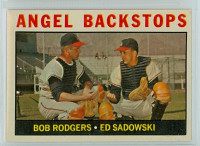 1964 Topps Baseball 61 Angel Backstops California Angels Excellent to Mint