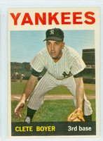 1964 Topps Baseball 69 Clete Boyer New York Yankees Very Good