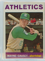 1964 Topps Baseball 75 Wayne Causey Kansas City Athletics Excellent to Mint