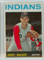 1964 Topps Baseball 77 Jerry Walker Cleveland Indians Excellent to Mint