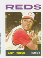1964 Topps Baseball 80 Vada Pinson Cincinnati Reds Very Good