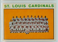 1964 Topps Baseball 87 Cardinals Team Excellent to Excellent Plus