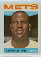 1964 Topps Baseball 95 George Altman New York Mets Near-Mint