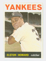 1964 Topps Baseball 100 Elston Howard New York Yankees Very Good