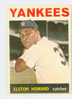 1964 Topps Baseball 100 Elston Howard New York Yankees Very Good to Excellent