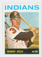 1964 Topps Baseball 105 Woody Held Cleveland Indians Excellent to Mint
