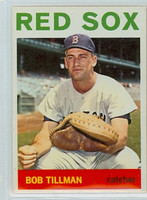 1964 Topps Baseball 112 Bob Tillman Boston Red Sox Excellent to Mint