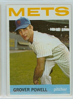 1964 Topps Baseball 113 Grover Powell New York Mets Excellent to Mint