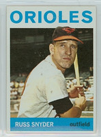 1964 Topps Baseball 126 Russ Snyder Baltimore Orioles Near-Mint