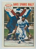 1964 Topps Baseball 137 World Series GM 2 Los Angeles Dodgers Excellent to Mint