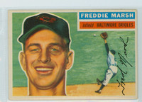 1956 Topps Baseball 23 Freddie Marsh Baltimore Orioles Excellent Grey Back