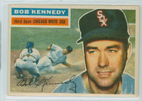 1956 Topps Baseball 38 Bob Kennedy Chicago White Sox Near-Mint White Back