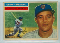 1956 Topps Baseball 230 Chico Carrasquel Tough Series Cleveland Indians Very Good