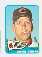1965 Topps Baseball 17 Johnny Romano Cleveland Indians Excellent to Mint