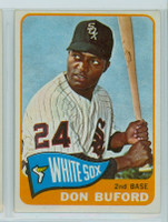 1965 Topps Baseball 81 Don Buford Chicago White Sox Excellent to Mint
