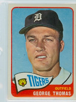 1965 Topps Baseball 83 George Thomas Detroit Tigers Excellent to Mint