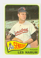 1965 Topps Baseball 86 Les Narum Washington Senators Excellent to Mint