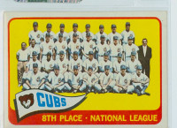 1965 Topps Baseball 91 Cubs Team Excellent to Mint