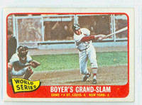 1965 Topps Baseball 135 World Series GM 4 Good to Very Good