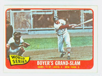 1965 Topps Baseball 135 World Series GM 4 Excellent to Mint
