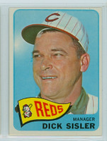1965 Topps Baseball 158 Dick Sisler Cincinnati Reds Excellent to Mint