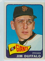 1965 Topps Baseball 159 Jim Duffalo San Francisco Giants Excellent to Mint