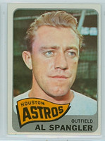 1965 Topps Baseball 164 Al Spangler Houston Astros Excellent to Mint