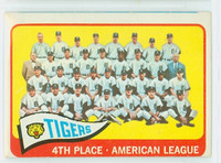 1965 Topps Baseball 173 Tigers Team Good to Very Good