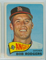 1965 Topps Baseball 342 Bob Rodgers California Angels Excellent to Mint