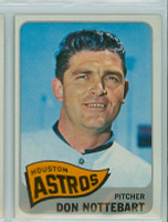 1965 Topps Baseball 469 Don Nottebart High Number Houston Astros Excellent to Excellent Plus