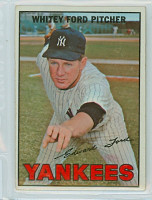 1967 Topps Baseball 5 Whitey Ford New York Yankees Very Good