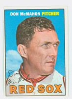 1967 Topps Baseball 7 Don McMahon Boston Red Sox Excellent to Excellent Plus